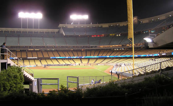 Final View of Dodger Stadium