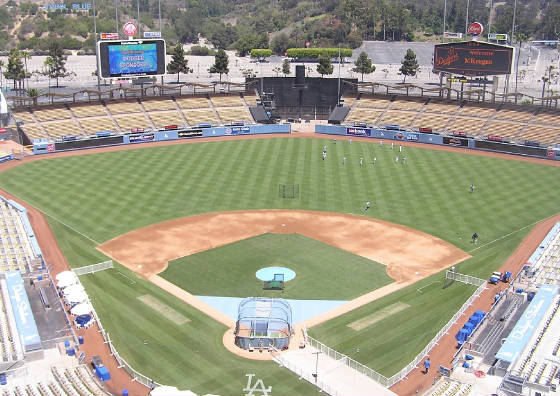 Dodger Stadium, Los Angeles California