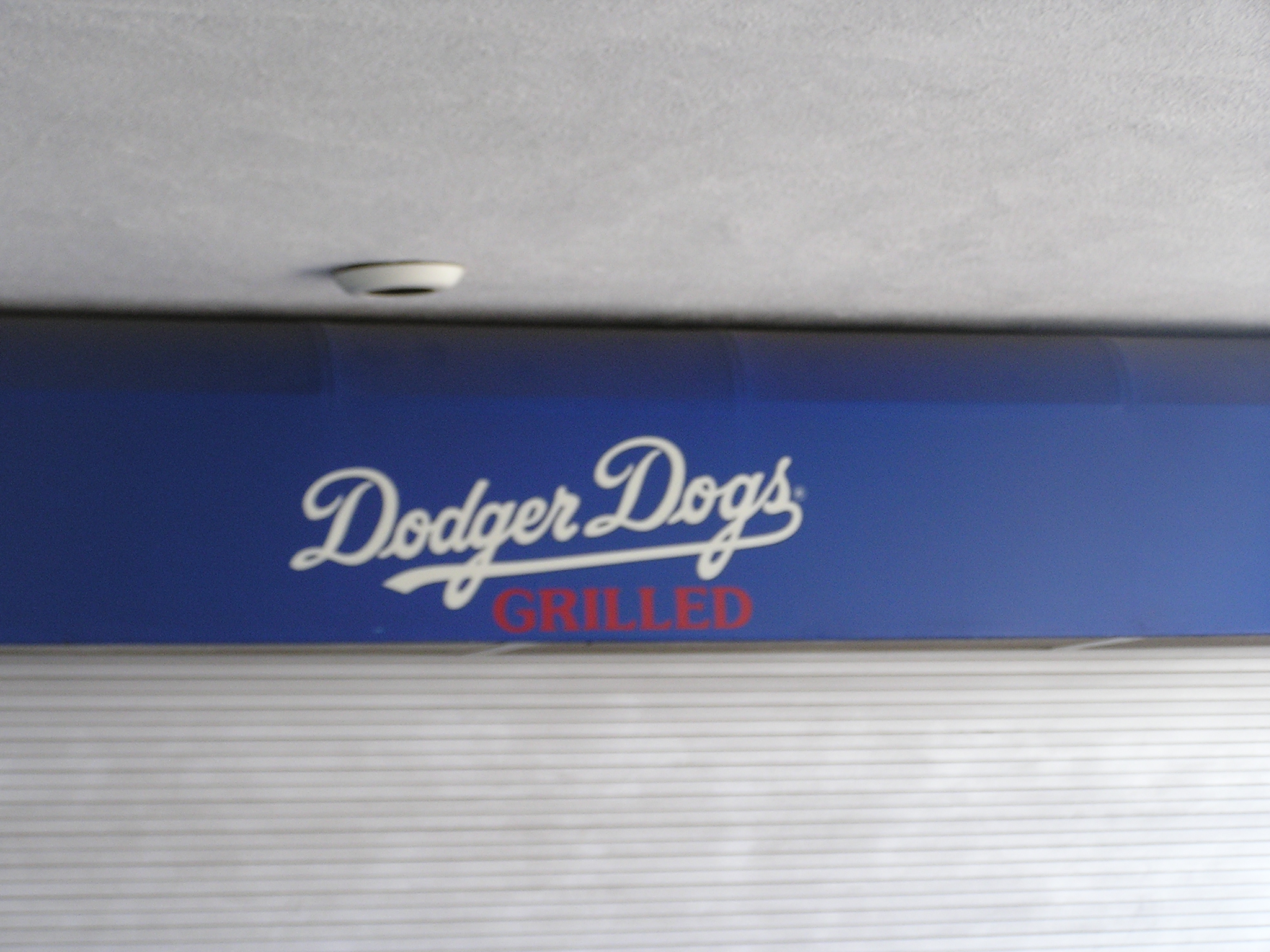 What to eat during the game - Dodger Stadium